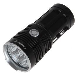 Wholesale Gold Torch Led Flashlight - Sale Black   Gold SecurityIng 7000LM 7x CREE XM-L2 LED Super Bright Torch Light & Waterproof LED Flashlight LEF_SA6