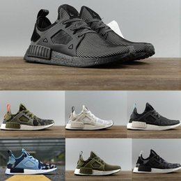Wholesale Lace Applique Japan - Good Quality NMD XR1 x Mastermind Japan Skull Men's Casual Shoes for High quality Black Red White Boost Fashion Sneakers EUR 36-44