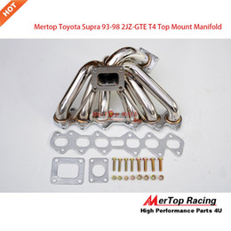 Wholesale Turbocharger Manifold - Mertop Race T4 Turbocharger Manifold For Toyota Supra JZA80 2JZ GTE 2JZDET 93-98 (Fits: Supra)