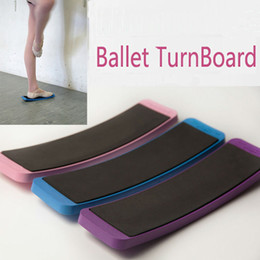 Wholesale Wholesale Pink Tools - new arrival Woman Ballet Turnboard Dancing Turn Board Ballet Practice Tools Foot Accessories Ballet Circling Board Tools