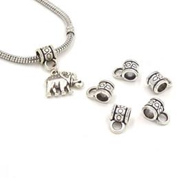 Wholesale Pendant Making Part - 11.5*7mm Metal Connector Jewelry Fit Charm Bracelet Sieraden Benodigdheden Parts To Make Necklace Pendant Connetcors