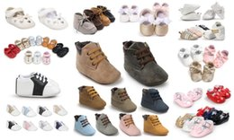 Wholesale Baby Girl Shoes Pair - wholesale!150 styles for choose 36 pairs lot fashion baby boy girl shoes Toddler shoes First walkers