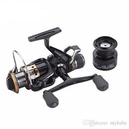 Wholesale Drag Reels - Carp Spinning Fishing Reels, Left Right Handle Metal Spool, 9+1BB, Stainless steel Shaft, Rear Drag Wheel, 1 Spare Plastic Spool