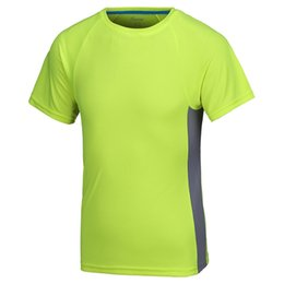 Wholesale T Shirt Advertising - Outdoor round neck quick-drying t-shirt custom advertising shirt short-sleeved overalls custom group class clothes culture shirt