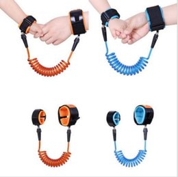 Wholesale Baby Safety Bracelets - 1.5M Baby Kids Safety Harness Child Leash Anti Lost Wrist Link Adjustable Traction Rope Bracelet Baby Safety High Quality b969