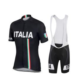 Wholesale Jersey Mountain Bike Size Xs - Pro Cycling Jersey Ropa Ciclismo Italy Bike Cycling Clothing Quick Dry Man Mountain Bicycle Sportswear Size: S-4XL E0808