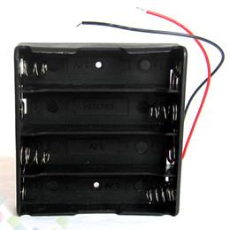 Wholesale Plastic Supply Box - Battery Box Holder Fit 4 pcs 18650 Battery Plastic Battery Storage Case DIY Power Supply 14.8V Easy installation DHL Free