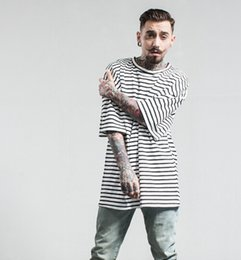 Wholesale Wholesale Loose T Shirts - New arrival 2 colors spring and summer new tide brand men clothing loose printed cotton men short sleeve men T-Shirt