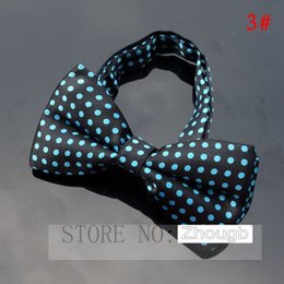 Wholesale Tuxedo Plaid Bow Tie - Novelty Mens Unique Tuxedo Bowtie Bow Tie Necktie Best Selling 30 Colors New High Quality