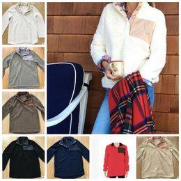 Wholesale Winter Women Jacket - Sherpa Pullover women oversize jacket winter outwear women pullover high quality soft fleece Sherpa winter outwear monogrammed KKA2997