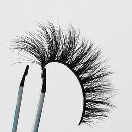 Wholesale Logo 15mm - Length 13-15mm OEM&Private Logo Acceptable Natural 3D Mink Hair Fur Eyelashes Messy Eye lash Extension Sexy Eyelash Crossing Eye Lashes EF2