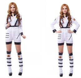 Wholesale Astronaut Cosplay - Halloween cosplay costume adult astronaut spacesuit Stage shows an astronaut