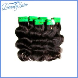 "Wholesale Clearance Remy Hair - wholesale indian body wave remy human hair 3kg 60bundle lot clearance indian hair cheap indian human hair color black grade 6a 8""~24"" cebelo"