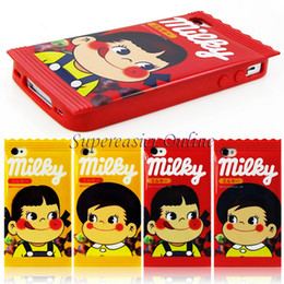 Wholesale Character Iphone 4s Cases - [Clearance Sales] 10pcs lot Character Phone Cases for iPhone 4 4S Soft Cover TPU Milky boys and girls Candy Cases Protection Shell