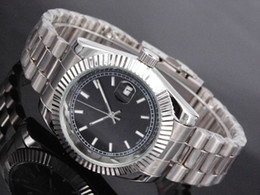 Wholesale Men Luxury Automatic Watch Replicas - replicas watches automatic date steel watch with movement of the luxury fashion quartz clock and men