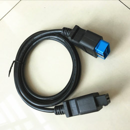 Wholesale Obd2 16pin - 2017 Promotions! High Quality 16 Pin Male To 16 Pin Female OBD 2 OBD II Extension Factory OBD2 Adapter Connector 16pin to 16pin