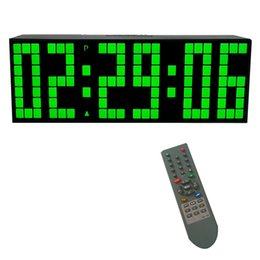 Wholesale Factory Outlets Europe - table alarm CH KOSDA Large LED Wall Alarm Digital Remote Control Desk Table Clock Countdown Countup Stopwatch Factory Outlets