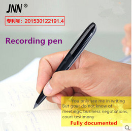 Wholesale Professional Stylus - Wholesale-Recording Pen 8gb Professional Mini Voice Recorder Stealth Smart Hd Remote Noise Reduction Class Stylus Can Write Silent Screen