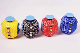 AUF LAGER!! Zappeln Sie Würfel-Version 5 Anti-Angst-Dekompressions-Spielzeug-Zappelnwürfel die weltweit erste amerikanische Dekompressionsangst Spielwaren mit Kasten von Fabrikanten