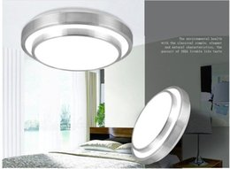 Wholesale Double Ceiling Led - Great 12W 18W 24W 35W Led Ceiling Light DownLights Led Double Round Living Room Bedroom Light Lamp Dia 290 350 400 85-265V Led Ceiling Lamp