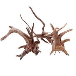 Wholesale Wood Tree - New 1PC Wood Fish Tank Driftwood Natural Tree Trunk Driftwood Aquarium Fish Tank Plant Aquario Aquarium Decoration