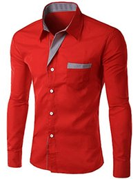 Wholesale Wholesale Slim Fit Shirts - Wholesale- Abetteric Mens Casual Slim Fit Shirt Formal Button Dress Shirt