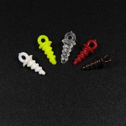 Wholesale Bag Stopper - Wholesale- [50PCS bag] Multiple Color Carp Popup Pegs for Carp Fishing Rig Stopper Pop Up Bait Fishing Accessories