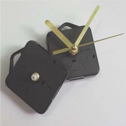 Wholesale Best Movements - Gold Craft Gift Clock and Watch Parts Shaft Length 13cm Clock Accessories Best Quartz Clock Mechanism Movement