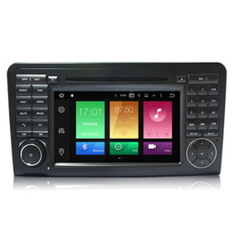 """Wholesale Mercedes W164 - 7"""" Touch Screen Android 6.0.1 System Head Unit Auto Stereo For BENZ ML-W164 (M300 ML350 ML450 ML500) Octa-Core CAR DVD GPS Navi 2G RAM Radio"""