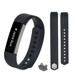 силиконовые наручные браслеты оптом Скидка Wholesale-1 Set Men Replacement Silicone Wristband + Buckle For Fitbit Alta High Quality Durable Famous Watch Bands Straps Correa Reloj