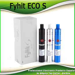 Wholesale Dry Herb Starter - Original Ciggo Herbstick Fyhit ECO S Herbal Vaporizer Starter Kits 2200mah Dry Herb Vaporizer Vape Pen Kit with Ceramic Coil 100% Authentic