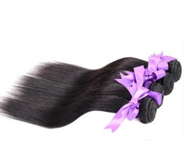 Wholesale Cheap Real Indian Hair - Unprocessed Cheap Brazilian Human Hair Straight Real Hair Extension Virgin Human Hair Weave with Free Shipping