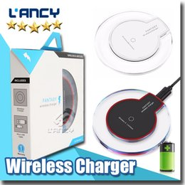 Wholesale High Efficiency - Wireless Charger for iphone x   8 Fantasy High Efficiency Efficiency pad with retail package for samsung S8 note8