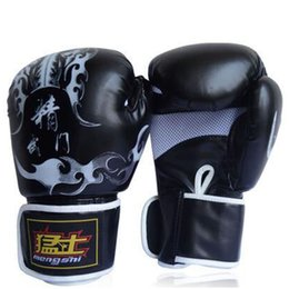 Wholesale Kung Fu Bags - New Muay Thai Training Mitt Kung Fu Beginner Martial Arts Gloves MMA Free Combat Boxing Gloves Punching Bag With Professional Boxing Match