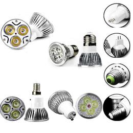 Canada Ampoule LED Lampe 9W 12W 15W Dimmable Ampoule Lumières GU10 MR16 E27 E14 B22 Projecteur Haute Puissance Ampoules LED Light DHL Livraison Gratuite cheap led mr16 12v 15w dimmable Offre