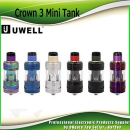 Wholesale Mini Cloud - Authentic Uwell Crown 3 Mini Tank with 2ml 4.5ml Capacity with Top Filling Large Clouds Crown III Coil Head 100% Genuine 2231012