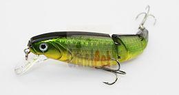 Canada Leurres durs poisson vif 10,5 cm 15 g 10 pcs 9088 Top qualité articulé eau de mer 10 couleurs appâts de pêche basse / tête de serpent Offre