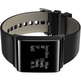 "x9 smart watch Promo Codes - Wholesale- X9 Plus 1.5"" big Screen IP67 Waterproof Smart Wristband Watch android bracelet blood pressure real-time information wrist watch"