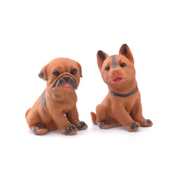 Wholesale Dog Gag - New Mini Dogs Beanie Boos Minifigures Screaming Squeeze Toy Hand Lepin Stress Relief Gags Jokes Receiver Fidget Toy