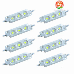 2019 chip de módulo Super brillante Módulos Led 6500K Blanco frío SMD 5630 / SMD 5050 RGB LED Chip Wateproof IP67 R / G / B / Blanco cálido 12V Led luz de publicidad chip de módulo baratos