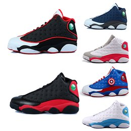 Wholesale Black Sunstone - Cheap re-old XIII 13 CP3 Basketball Shoes re-old 13s Black Orion Blue Sunstone Athletics Sneaker Men Sports shoe 13's Trainers