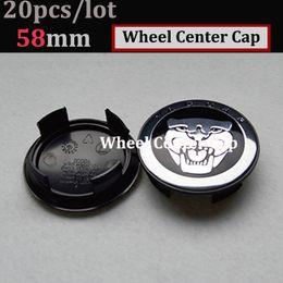 Wholesale 58mm wheel caps - free shipping 20pcs 58mm Auto Wheel Logo Cap ABS Aluminum for jaguar XJ XF F-Type XK Car Wheel Emblem Cover wheel center hup caps
