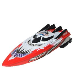 Wholesale Toy Electric Speed Boat - Wholesale- Amazing Children's Toys Remote Control Super Mini High Speed Boat High Performance RC Boat Toy Baby Toys Gift