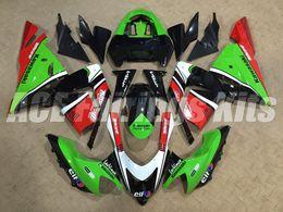 Wholesale motorcycle fairings body kits - New ABS motorcycle Fairings kits Fit For KAWASAKI NINJA ZX-10R 04 05 ZX 10R Body ZX1000 C ZX1000C 04 ZX10R 2004 2005 hot sales