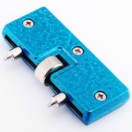 Wholesale Wholesale Anchors Screws - Wholesale- Blue Adjustable Anchor Watch Screw On Back Case Opener Open Remove Repair Tool