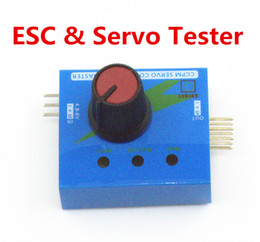 Wholesale Electric Motor Speed Controller - ESC  CCPM Servo Consistency Master Tester for rc aircraft helicopter car airplane meter