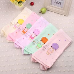 Wholesale Girls Underware - Cute Girl Underwear 100% Cotton Minnie Children Pants Kids Underware Cartoon Underpants XL 2XL 8-13T Wholesale Free Shipping