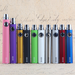 Canada 2018 Prix le plus bas Cigarette électronique EGO EVOD vape stylo batteries 650 mAh 900mAh 1100mAh eVod batterie ecigs vapes cheap electronic cigarettes lowest Offre