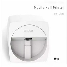 Wholesale Teaching Machine - New O2NAILS Automatic nail painting machine V11 Multifunction Mobile Wifi Easy All-Intelligent 3D Nail Printers Video To Teach