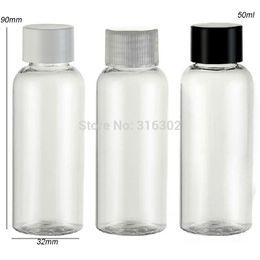 Wholesale Shampoo Packaging Bottles - Free shipping - wholesale 50pcs lot 50ml clear PET Cream Bottle,50ml Shampoo Shower Gel. 50ml Cosmetic Packaging